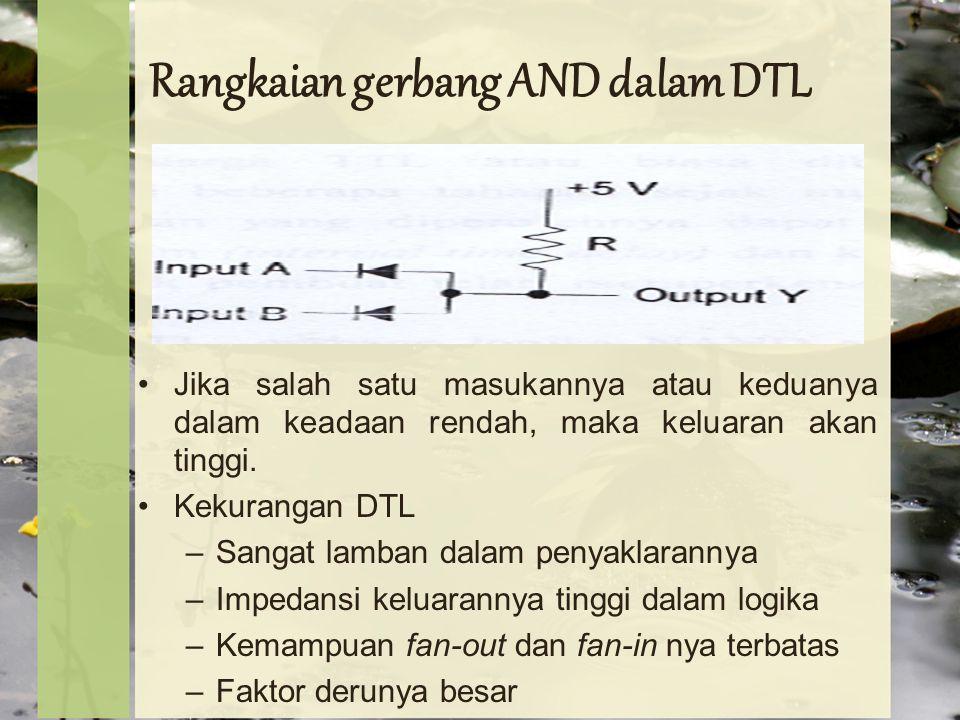 Rangkaian gerbang AND dalam DTL