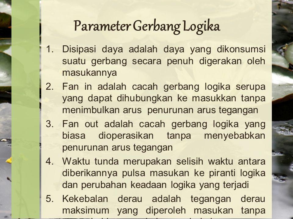 Parameter Gerbang Logika