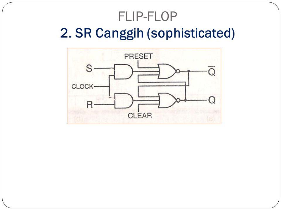 FLIP-FLOP 2. SR Canggih (sophisticated)