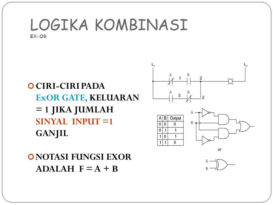 LOGIKA KOMBINASI EX-OR