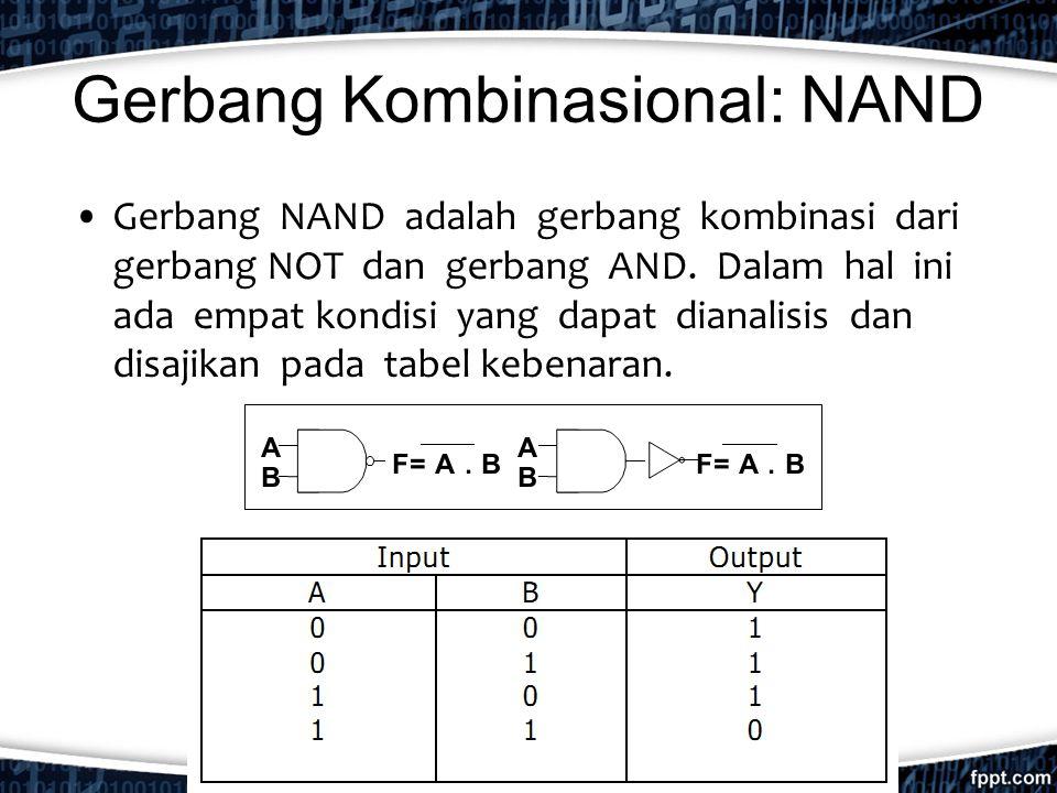 Gerbang Kombinasional: NAND