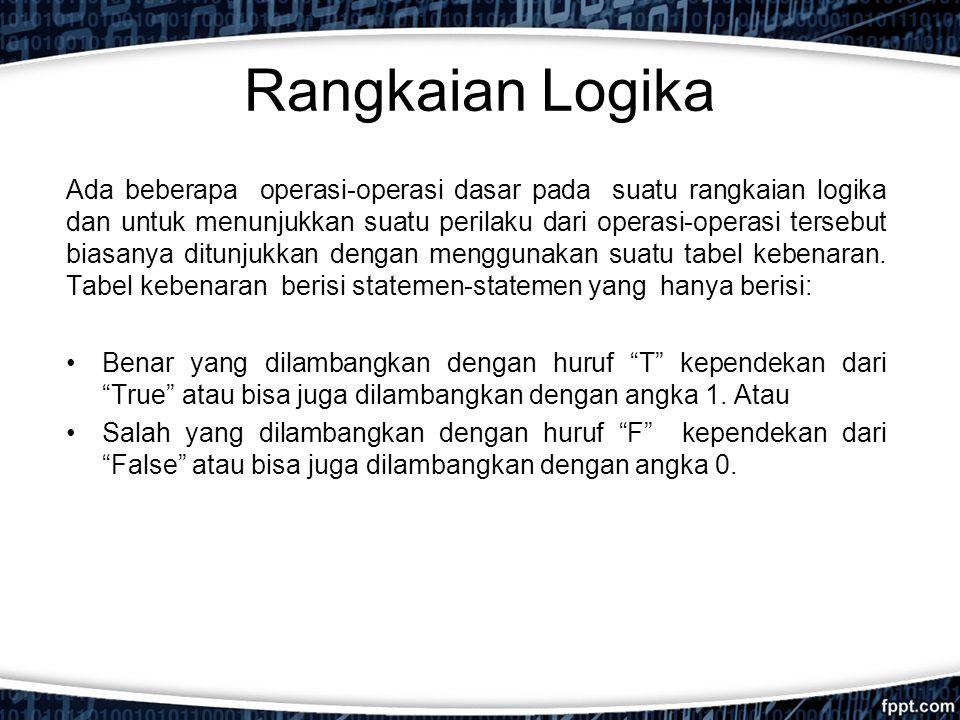 Rangkaian Logika