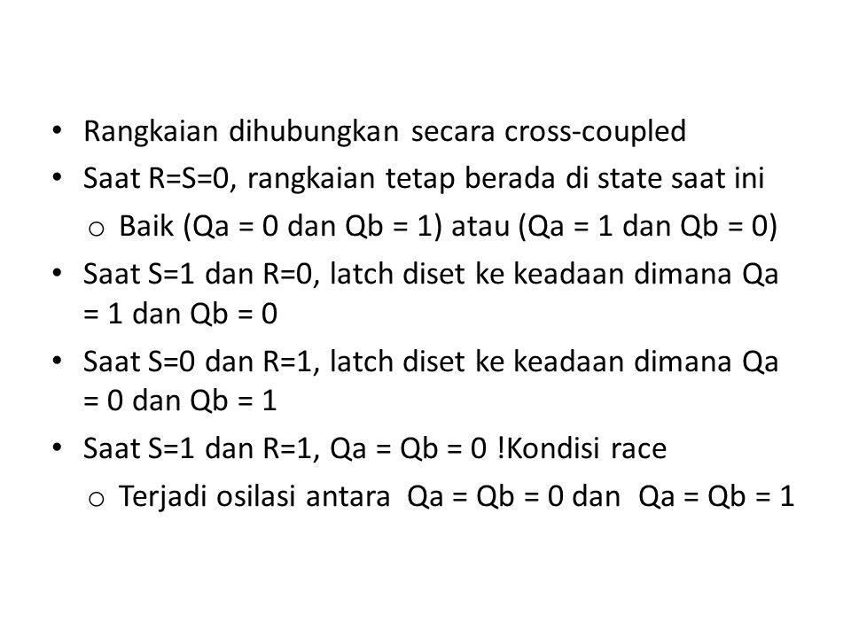 Rangkaian dihubungkan secara cross-coupled