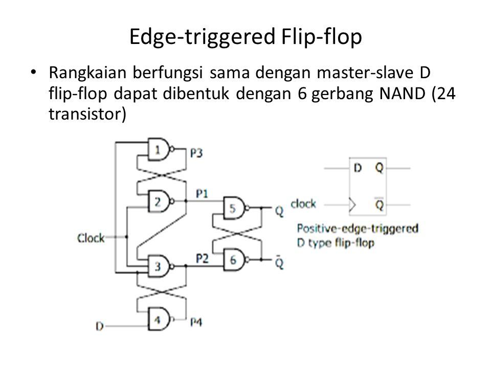 Edge-triggered Flip-flop