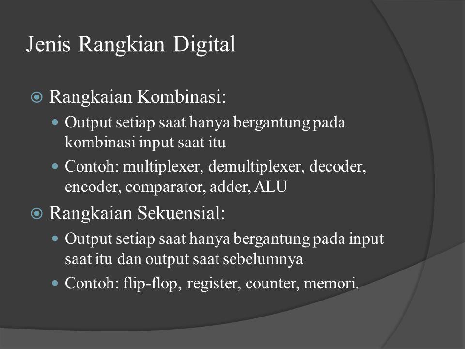 Jenis Rangkian Digital