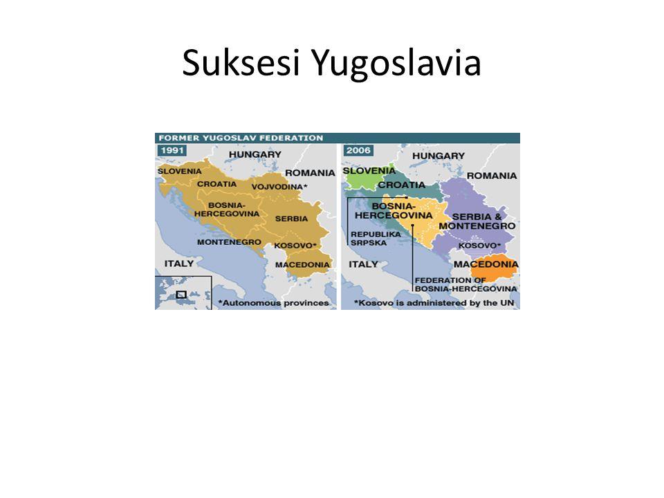 Suksesi Yugoslavia Bosnia-Hercegovina = referendum kemerdekaan