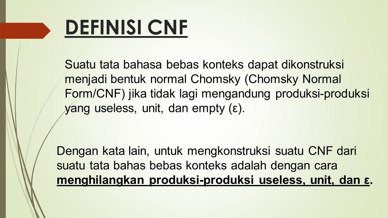 DEFINISI CNF