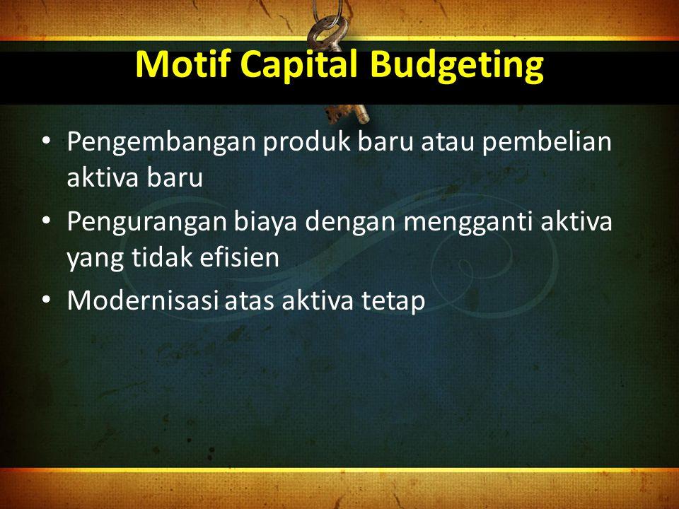 Motif Capital Budgeting