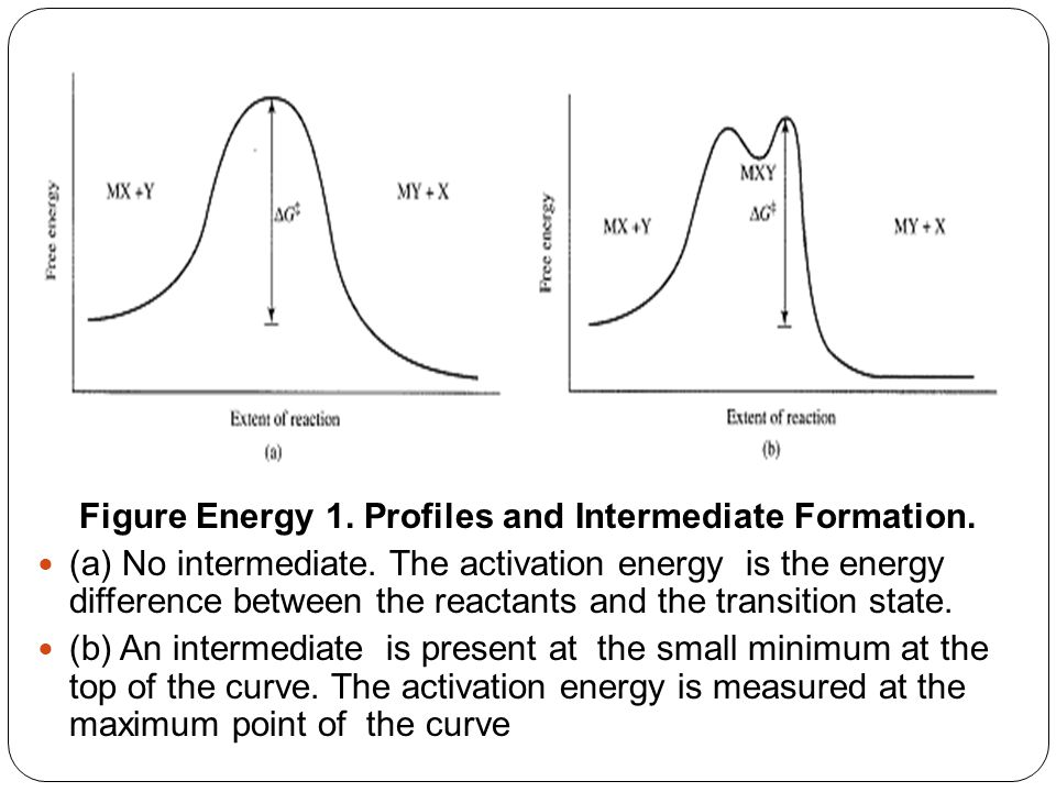 Figure Energy 1. Profiles and Intermediate Formation.