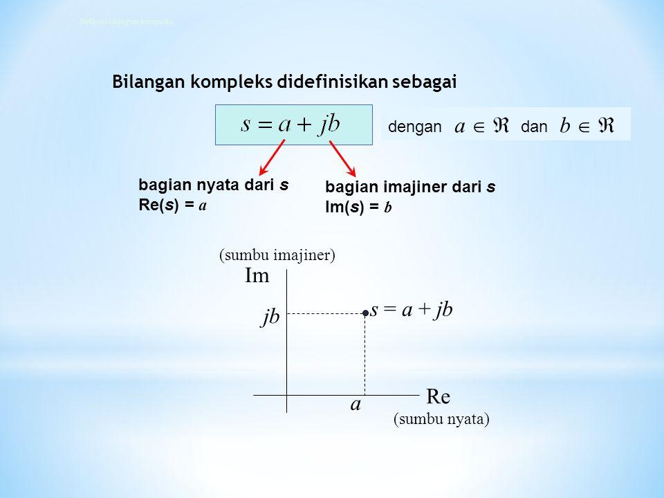 Definisi bilangan kompleks