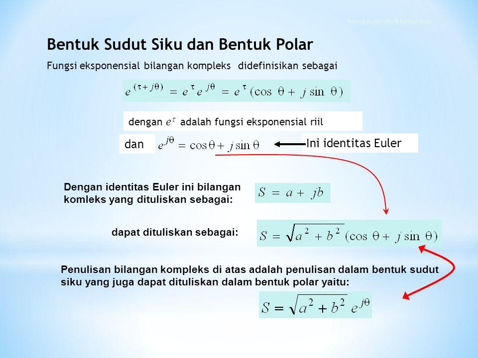 Bentuk Sudut Siku & Bentuk Polar