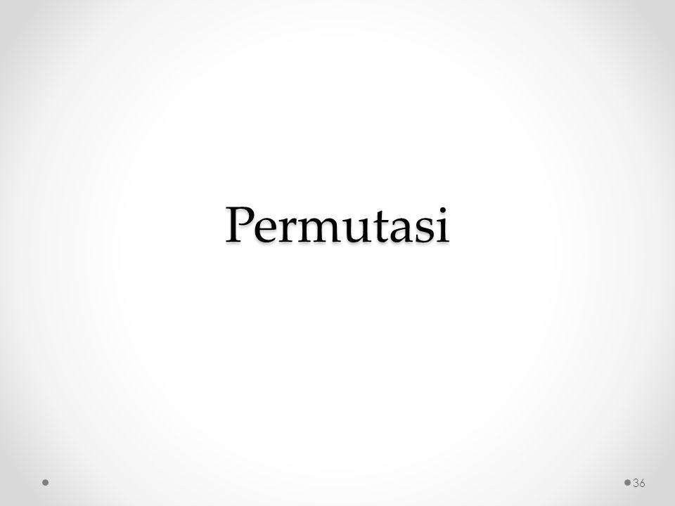 Permutasi