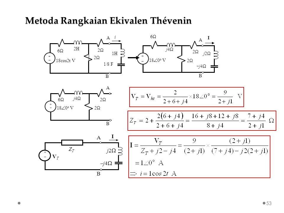 Metoda Rangkaian Ekivalen Thévenin