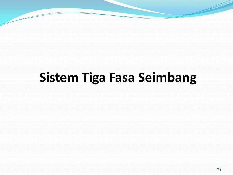 Sistem Tiga Fasa Seimbang