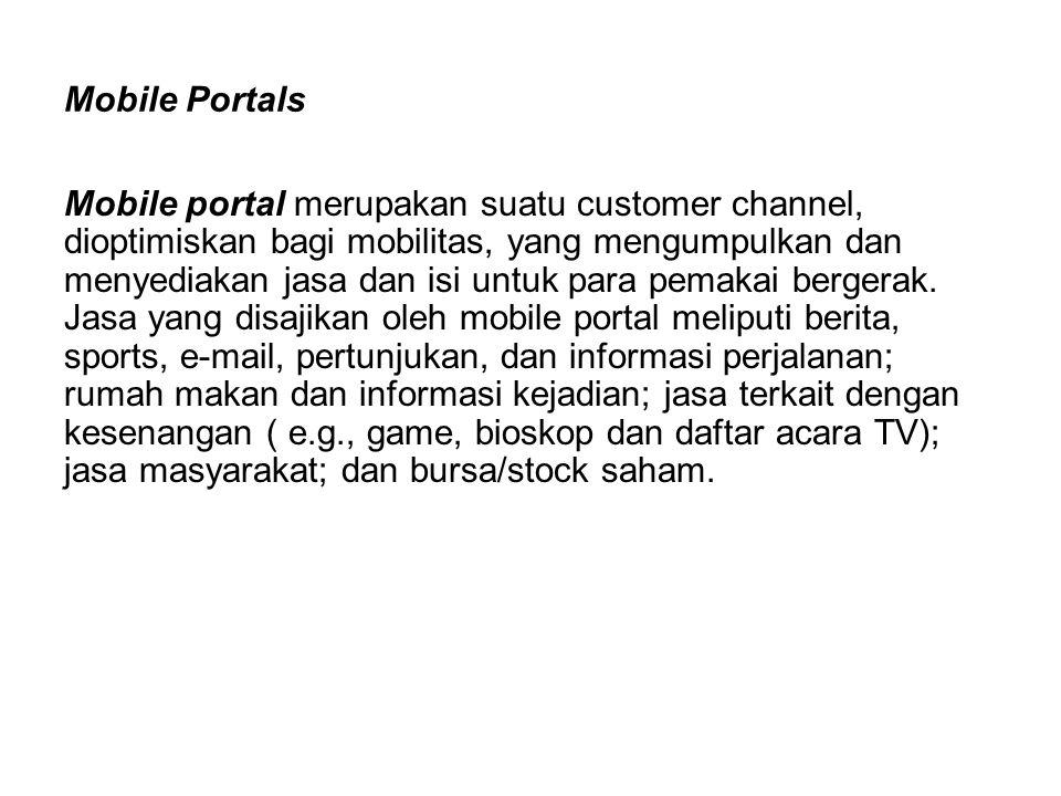 Mobile Portals