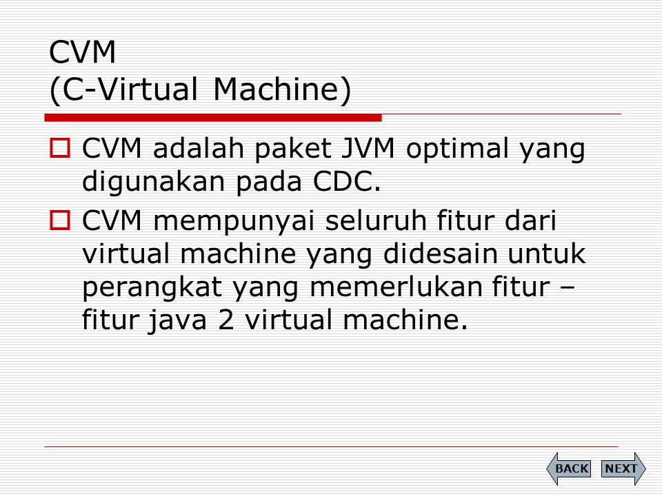 CVM (C-Virtual Machine)