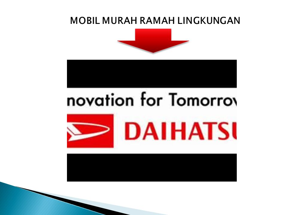 MOBIL MURAH RAMAH LINGKUNGAN
