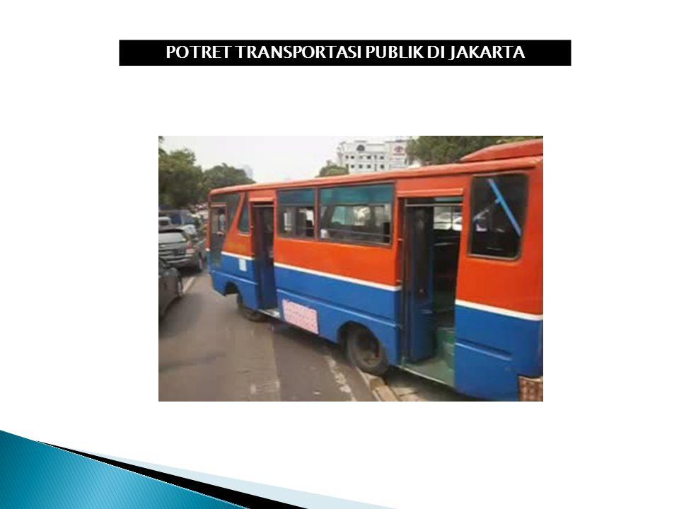 POTRET TRANSPORTASI PUBLIK DI JAKARTA