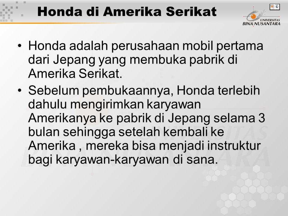Honda di Amerika Serikat