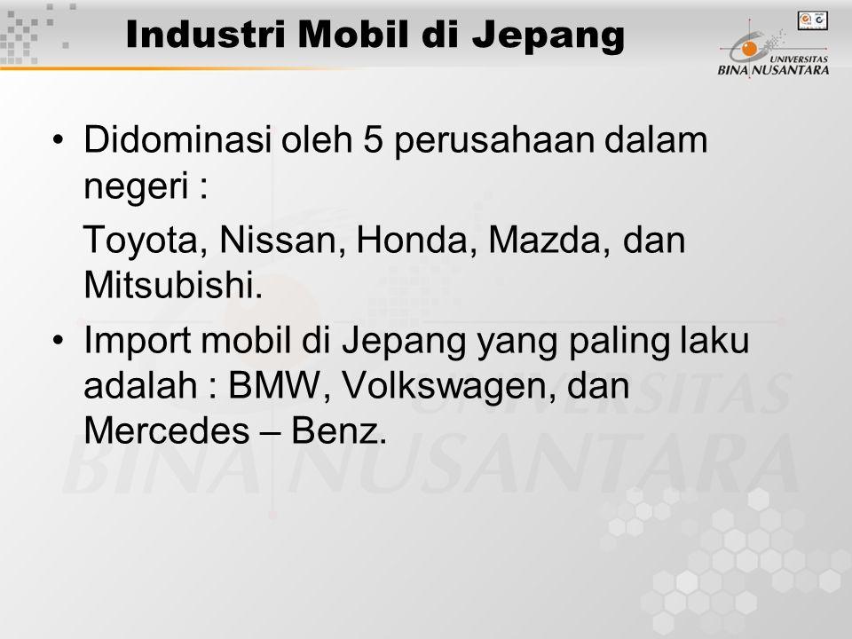 Industri Mobil di Jepang