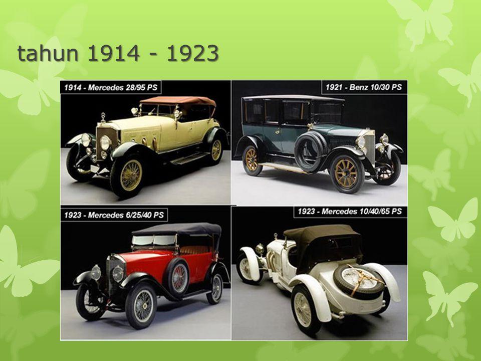 tahun 1914 - 1923