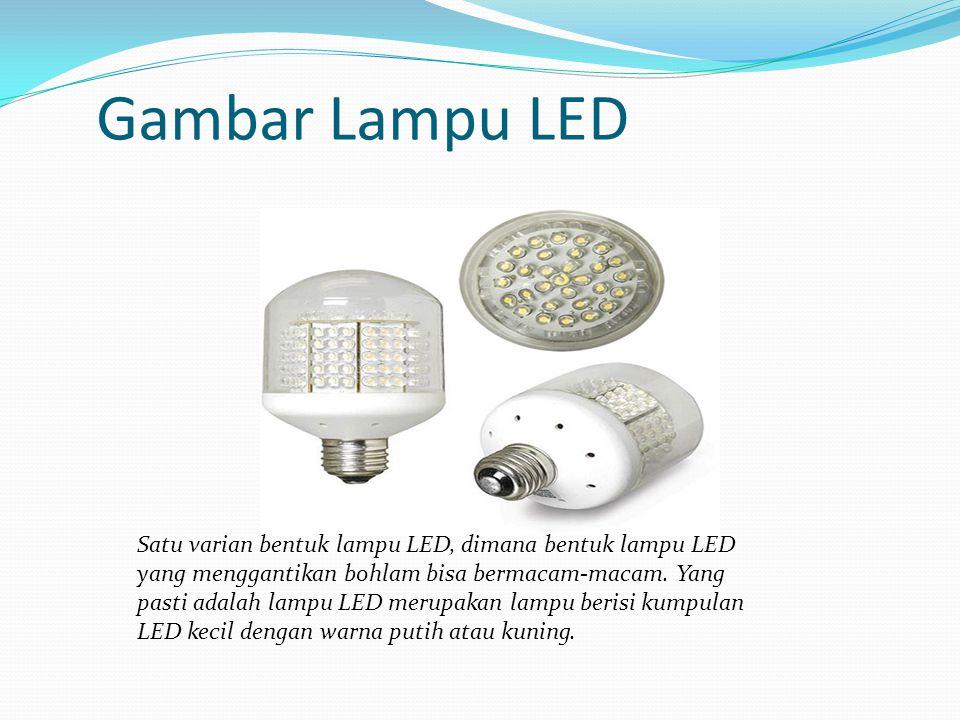 Gambar Lampu LED