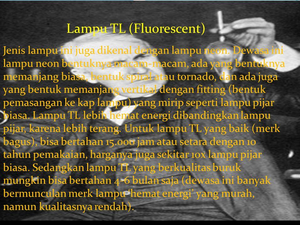 Lampu TL (Fluorescent)