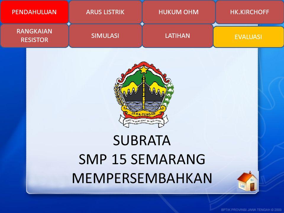 SUBRATA SMP 15 SEMARANG MEMPERSEMBAHKAN