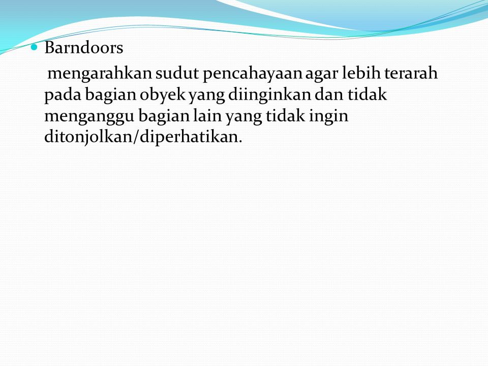 Barndoors