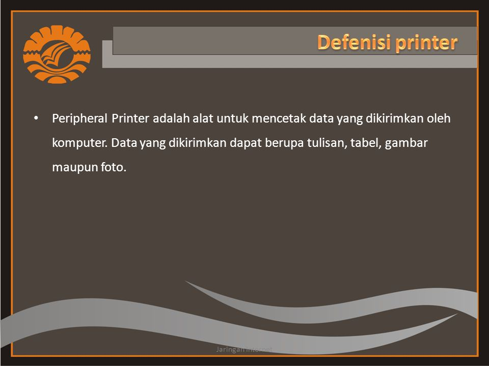 Defenisi printer