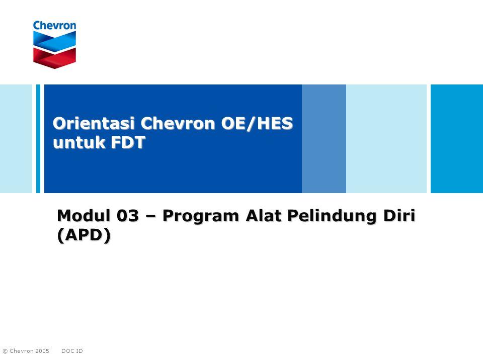 Modul 03 – Program Alat Pelindung Diri (APD)