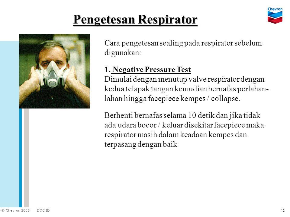 Pengetesan Respirator