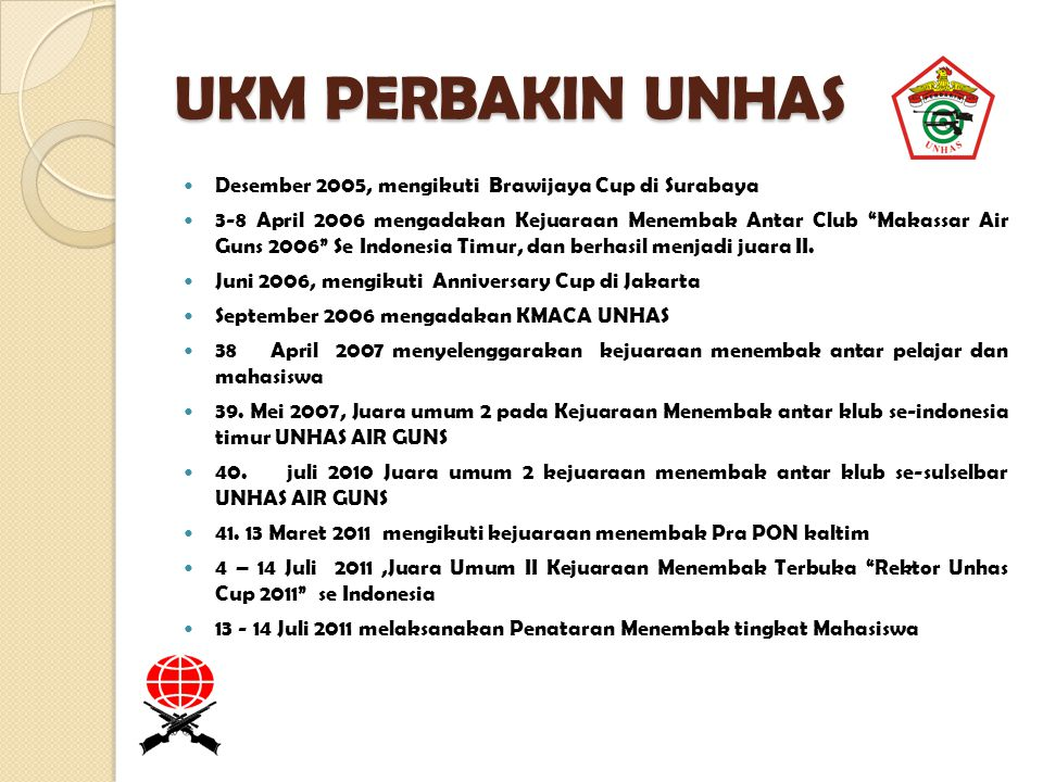 UKM PERBAKIN UNHAS Desember 2005, mengikuti Brawijaya Cup di Surabaya