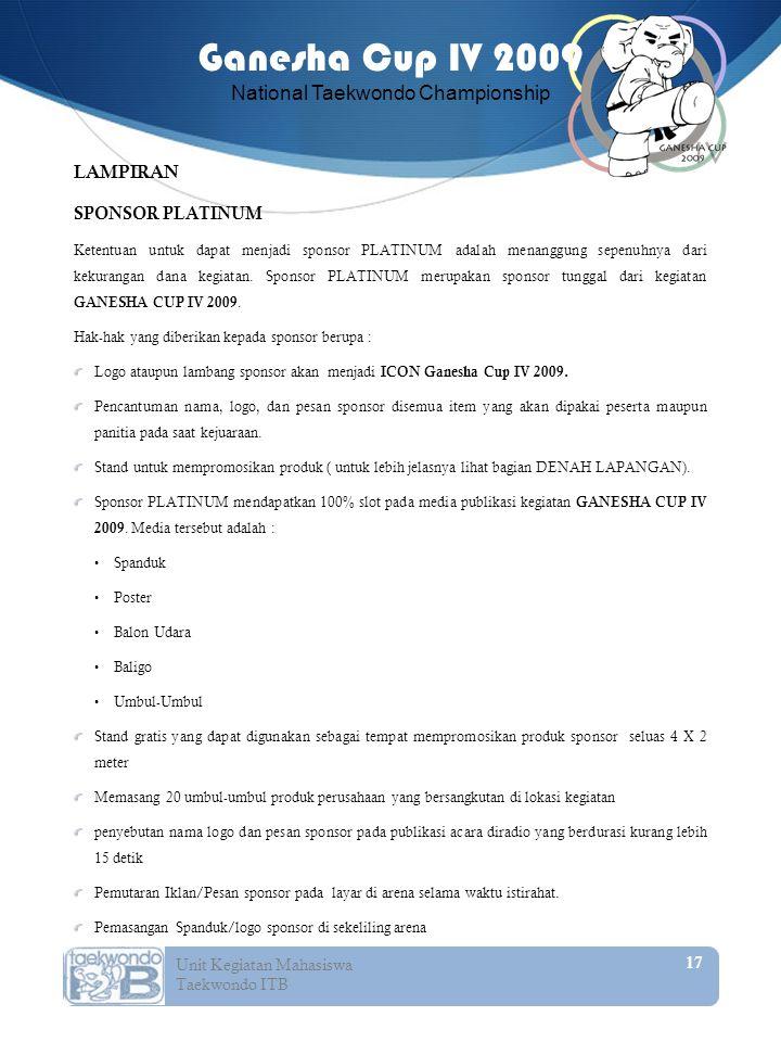 LAMPIRAN SPONSOR PLATINUM