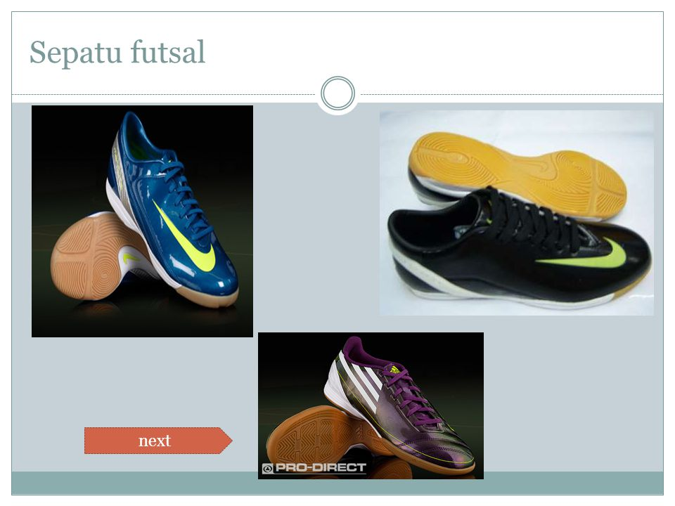 Sepatu futsal next
