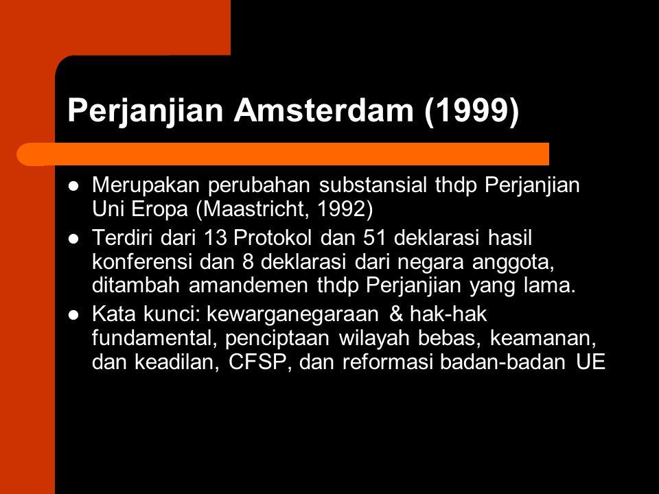 Perjanjian Amsterdam (1999)