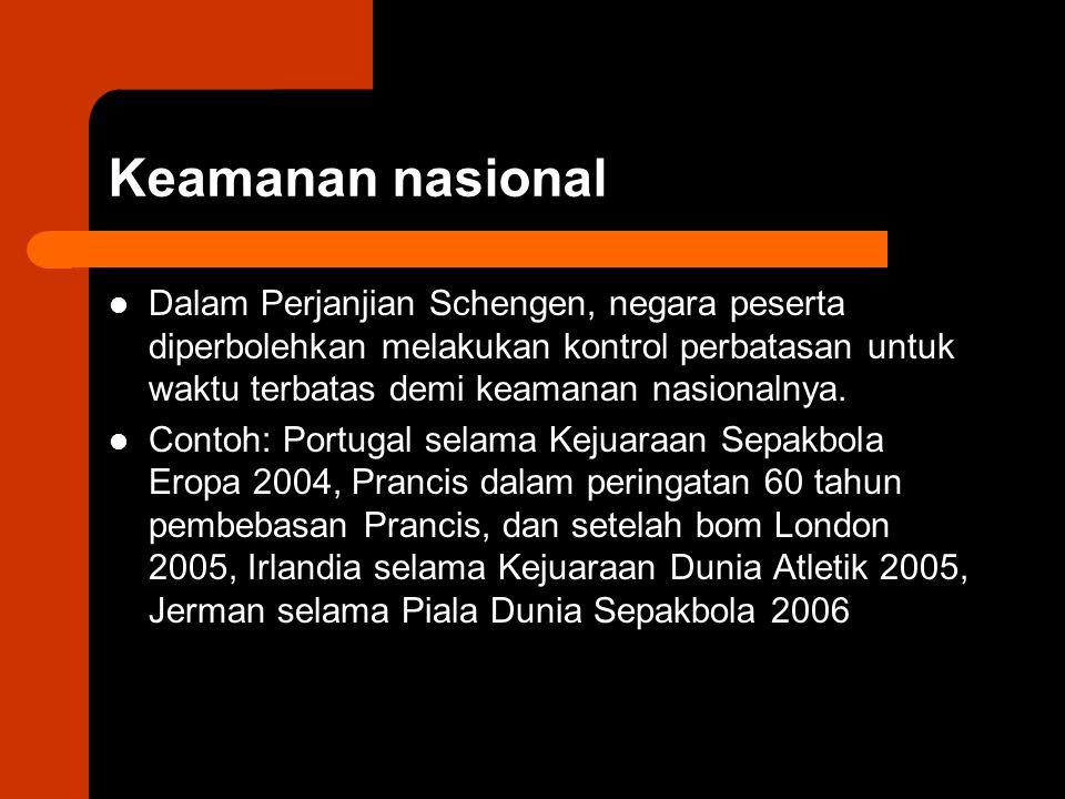 Keamanan nasional