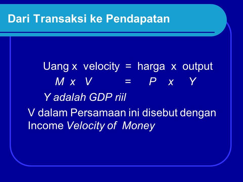 Dari Transaksi ke Pendapatan