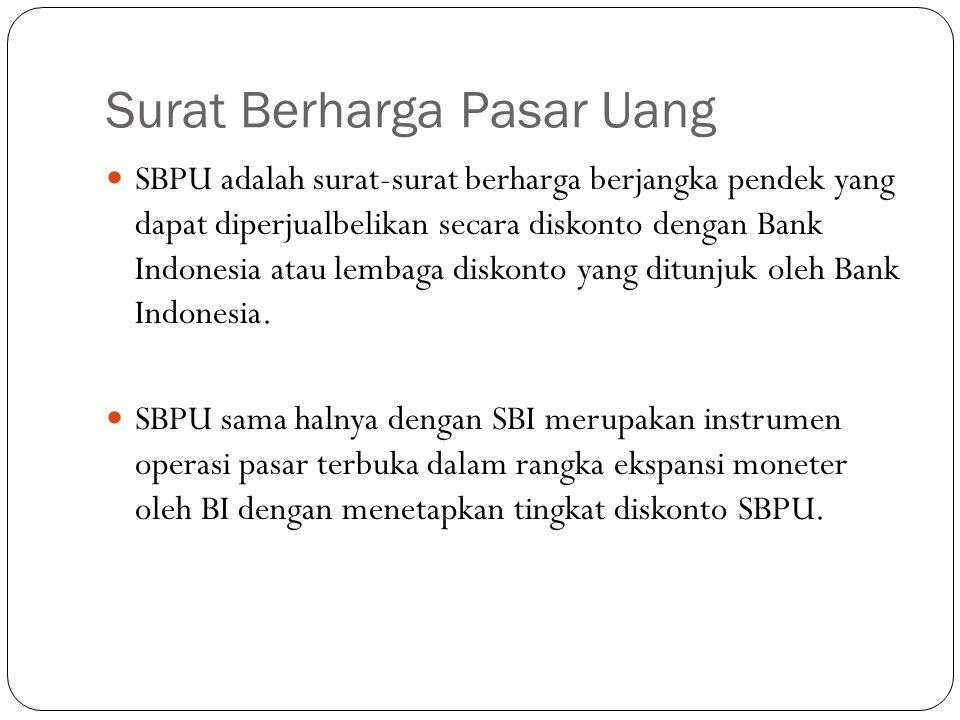 Surat Berharga Pasar Uang