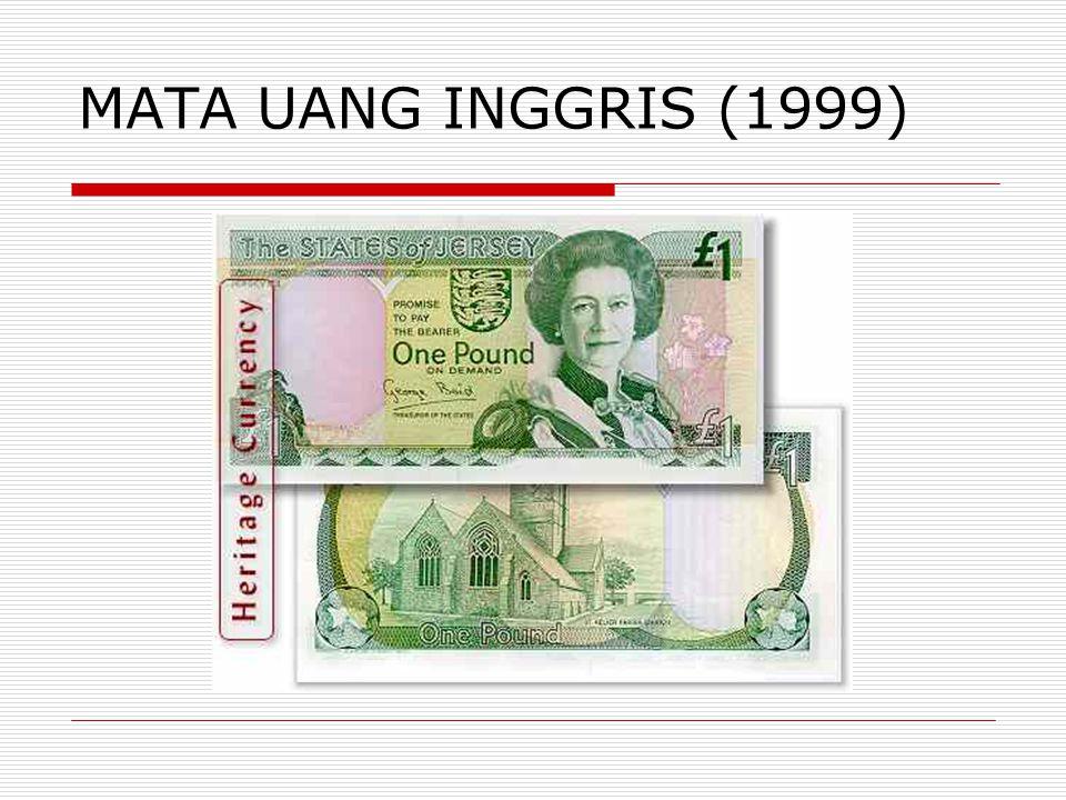 MATA UANG INGGRIS (1999)