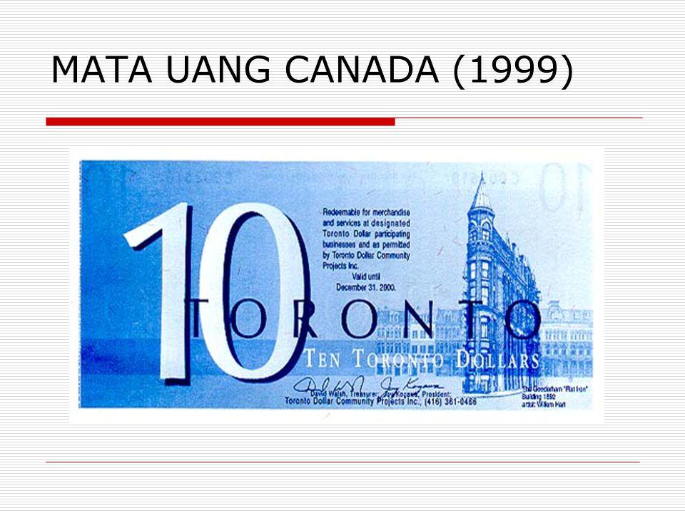 MATA UANG CANADA (1999)