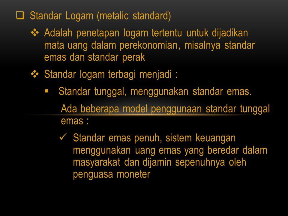 Standar Logam (metalic standard)
