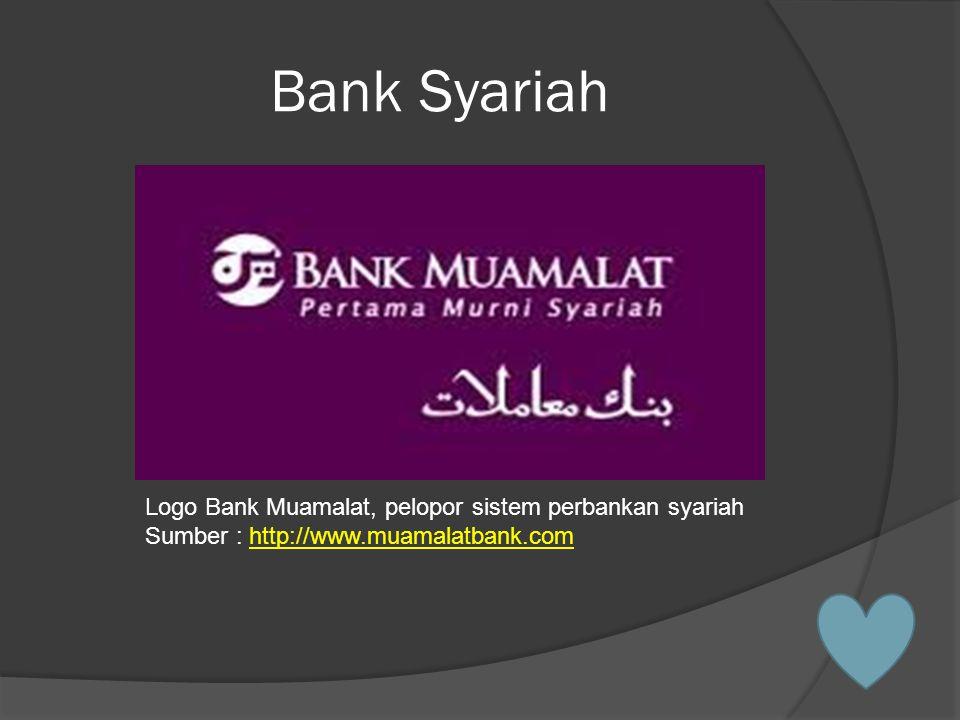 Bank Syariah Logo Bank Muamalat, pelopor sistem perbankan syariah