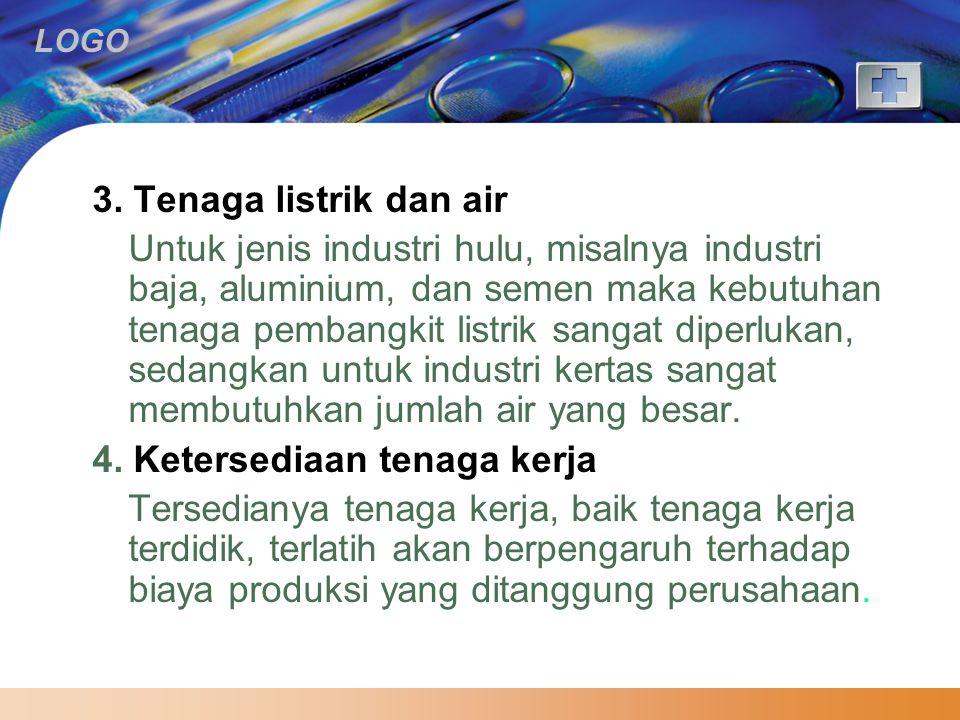3. Tenaga listrik dan air