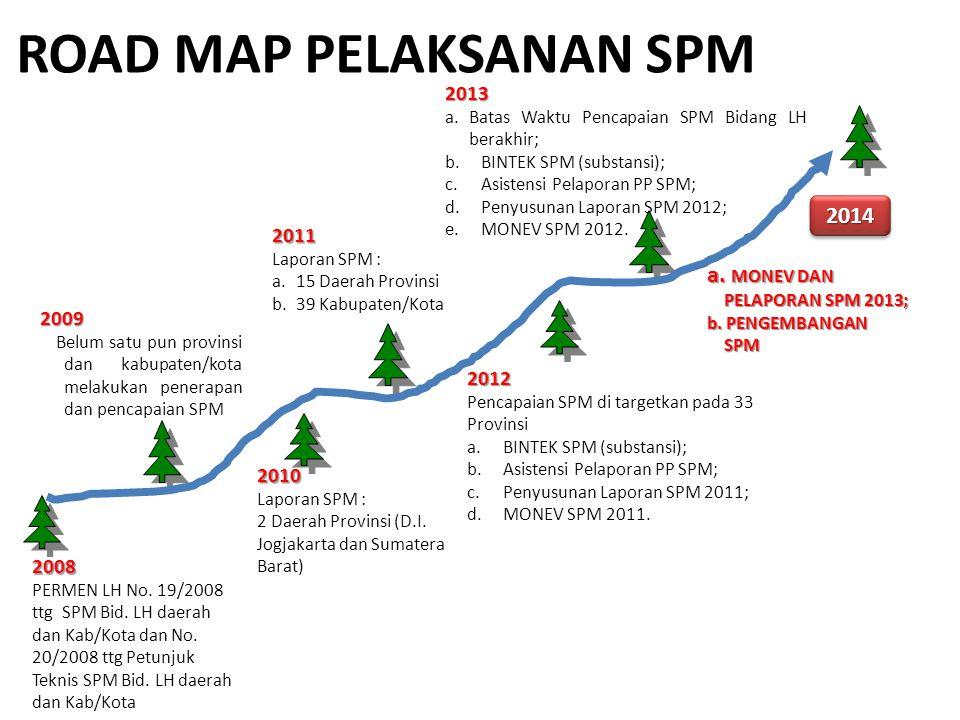 ROAD MAP PELAKSANAN SPM