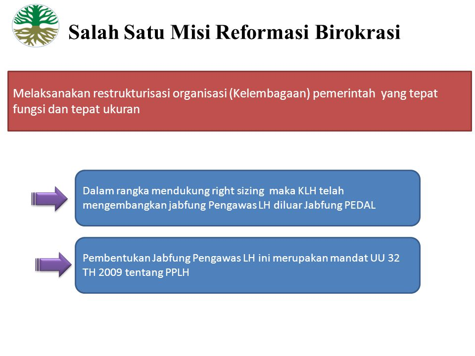 Salah Satu Misi Reformasi Birokrasi