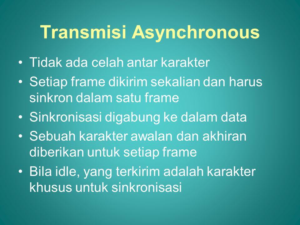 Transmisi Asynchronous