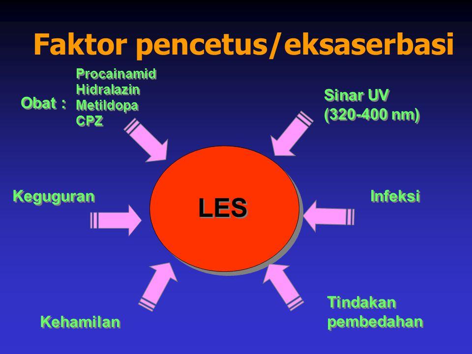 Faktor pencetus/eksaserbasi