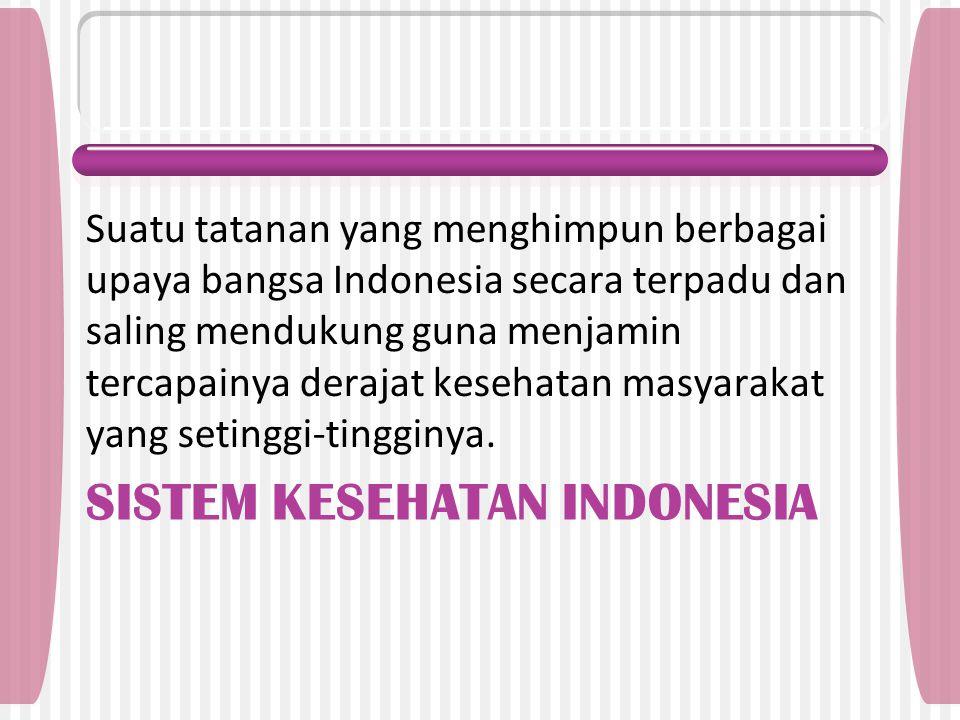 Sistem kesehatan indonesia