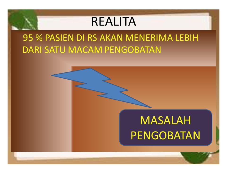 REALITA MASALAH PENGOBATAN